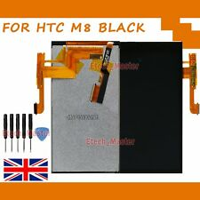 For HTC One M8 LCD Touch Screen Black  Display Digitizer Assembly Replacement