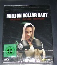 MILLION DOLLAR BABY MIT CLINT EASTWOOD STEELBOOK COLLECTION BLU RAY NEU & OVP