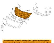 HONDA OEM 13-15 Crosstour-Grille Grill 75101TP6A61