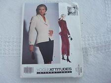 Vogue Designer Premonville 1048  jacket skirt  Sewing Pattern size 6-8-10