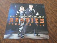 cd LARA FABIAN & JOHNNY HALLYDAY requiem pour un fou
