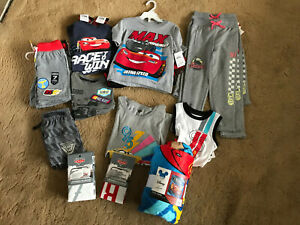 Disney Lightning McQueen Cars 3 Assorted Clothes and Bedding