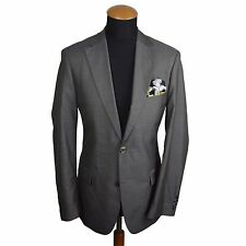 Recent Hugo BOSS Mens Blazer size 38L Silk Wool Jacket Sport Coat Birdseye gr 94