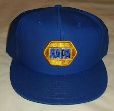 Vintage 1990s NAPA Snapback Baseball Cap Hat with Embroidered Patch New WOT