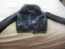 Zip Leather Unbranded Cropped Coats & Jackets for Women