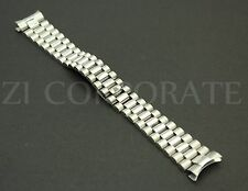20 MM Silver Color President jubilee Watch Band Bracelet For Stainless for Rolex