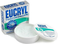 2 X Eucryl Freshmint Stain Removing Toothpowder 50g
