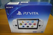 New Sony PCH-2000ZA22 PlayStation PS Vita Wi-Fi Console Glacier White From Japan