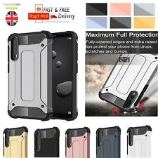 Heavy Duty Shockproof Rugged Bumper Hybrid Armor Case Cover For Huawei Phones