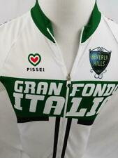 Gran Fondo Italia Mens S 4 Italy Zip Up Cycling Jersey Pissei Beverly Hills M