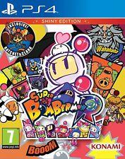 Super Bomberman R EDICION Shiny PS4 PAL ESPAÑA NUEVO PRECINTADO ESPAÑOL CASTELLL