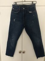 Levis 501 Cropped Jeans 29