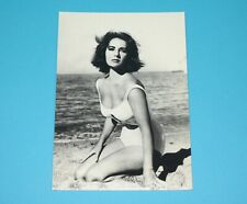 FILM STAR POSTCARD ELIZABETH TAYLOR PHOTO CARD 1950s DUTCH HOLLAND