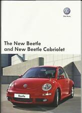 VW VOLKSWAGEN BEETLE AND BEETLE CABRIOLET SALES BROCHURE DECEMBER 2007 for 2008