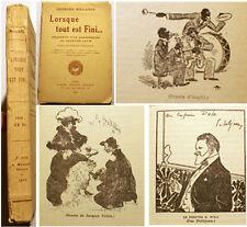 PARIS/SOUVENIR D'UN CHANSONNIER DU QUARTIER LATIN/MILLANDY/1933/ENVOI/ILLUSTRE