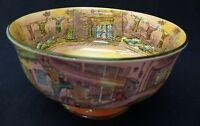 "Rare Royal Doulton Dickens Series Ware Bowl ""Dickens Characters"" D 6327"
