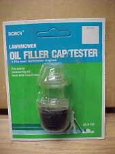 NEW! Dorcy OIL FILLER CAP / TESTER #32-9132