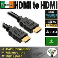 3M LONG HDMI CABLE 1080p FULL HD 19 PIN MALE TO MALE LEAD WIRE HIGH QUALITY