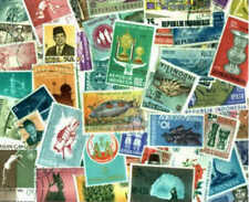Indonesia Stamps Collection - 400 Different Stamps