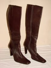 Bakers Womens Brown Leather Knee High Boot Shoe - Size 8M