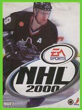 NHL 2000 pc cd rom hockey su ghiaccio 00 ea sport ITA CARTONATO
