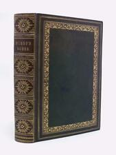 ROBERT BURNS Complete Works 1865 fine leather, over 30 superb engravings POETRY