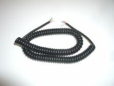 PHILMORE 44-489 3FT 3 CONDUCTOR SHIELDED SMALL COILED MICROPHONE MIKE CABLE