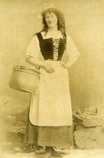 Humoristic Traditional Fashion Meudon France Old Photo Delaporte 1875