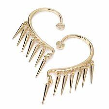 Earrings-ear hook-gold picchi alternative-fashion Gotico Bohemien Punk Rocker
