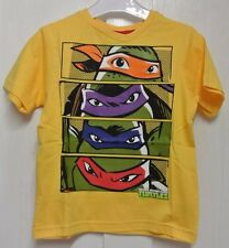 New Turtles 100% cotton T-shirt Yellow age 2-3 years