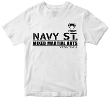 Navy ST Mixed Martial arts Venum T-shirt Gym Training Workout Fitness TV show