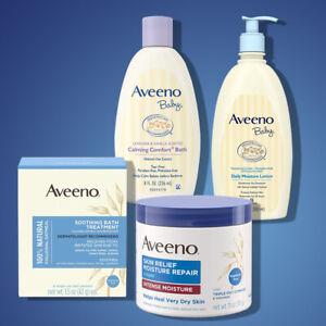 Aveeno Baby Lotion, Moisture Cream, Soothing Bath, Calming Bath - Various