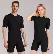 New Women Men Lycra Scuba Snorkeling Dive Suits Surf Shorty Quick Dry Wetsuits