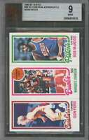 1980-81 topps #99 DON FORD - MARQUES JOHNSON - BOB MCADOO (pop 1) BGS BVG 9
