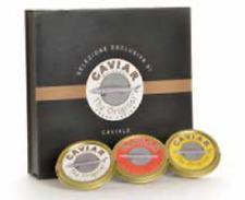 CAVIAR THE ORIGINAL TRIS SELECTION confezione di 3 caviali esclusivi selezionati