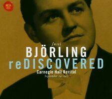 Bjorling Rediscovered - Carnegie Hall Recital September 1955 - CD