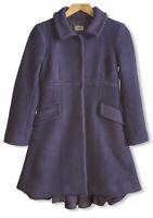 Philosophy Di Alberta Ferretti Women's Size 4 Lilac Purple Wool/Cashmere Peacoat