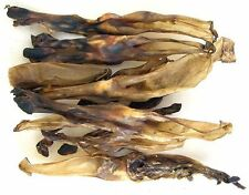 <400g >Dried Rabbit Ears - treats, crunchy chews, healthy food 100% NATURAL