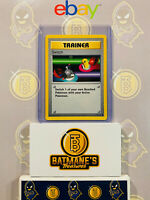 Trainer Switch 95/102 Shadowless NM Near Mint Base Set Non-Holo Pokemon Card