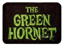 The Green Hornet TV Series Title Embroidered Patch Kato Bruce Lee Black Beauty