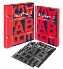Saxon Algebra 2 3rd Edition Home Study Kit Homeschool w/ Solutions Manual NEW!!