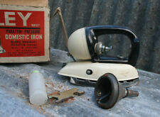 More details for vintage 1955 tilley paraffin pressure iron original box and all accessories lamp