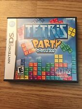 Tetris Party Deluxe Nintendo DS NDS Cib Game Complete Nice BDS1