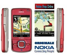 Nokia 6210 Navigator Rosso (Senza SIM-lock) Smartphone UMTS GPS 3,2mp Flash mp3 NUOVO