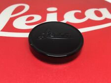 Genuine Leica Leitz 39mm Black Paint Front Lens Cap Summicron 35mm/50mm Rare #2