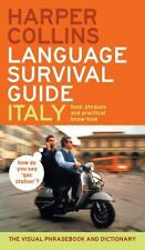 HarperCollins Language Survival Guide: Italy: The Visual Phrasebook and Dictiona