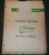 JOHN DEERE 820 SERIES DIESEL TRACTOR TECHNICAL SERVICE SHOP REPAIR MANUAL SM2021