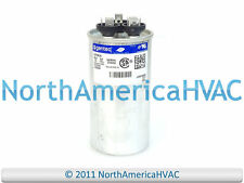 GE Genteq Capacitor Dual Run Round 35/5 uf MFD 370 Volt VAC 97F9834 C3355R