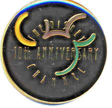 Disney Channel 10th Anniversary From Boxed Set LOGO Pin ONLY!