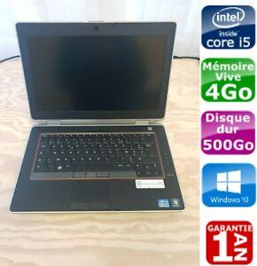 """PC portable DELL E6420 14"""", i5-2520M à 2.5GHz, HDD 500 Go, 4 Go, Windows 10 Pro"""